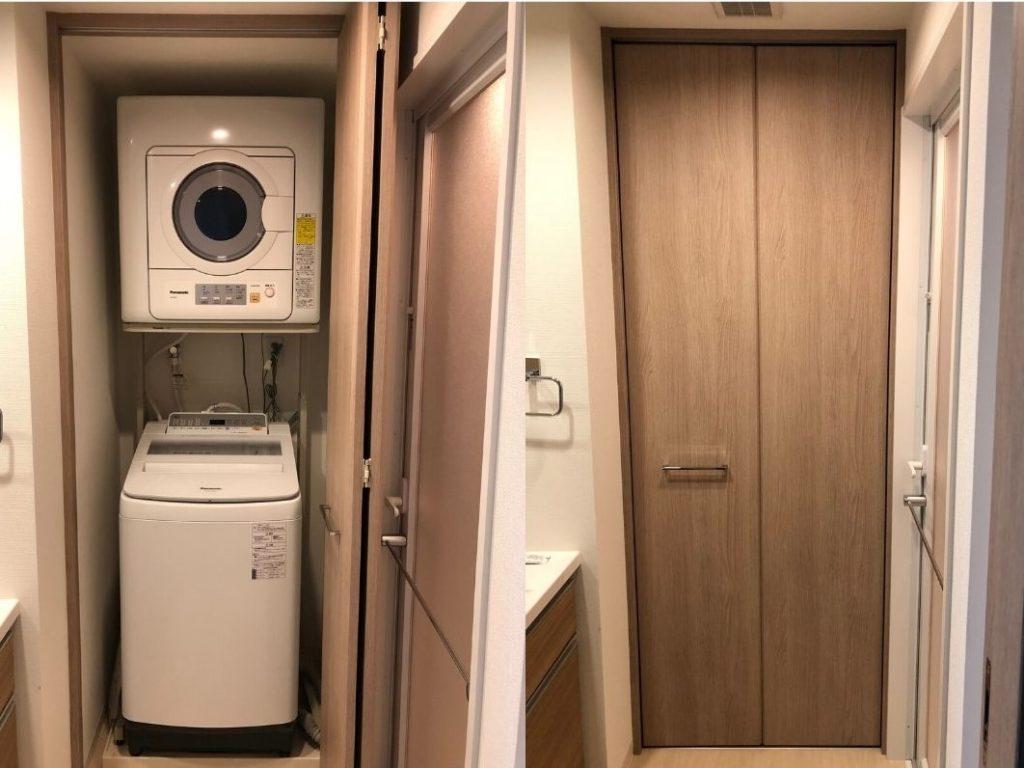 洗濯機と衣類乾燥機