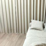 新居のリビングに購入したカーテン