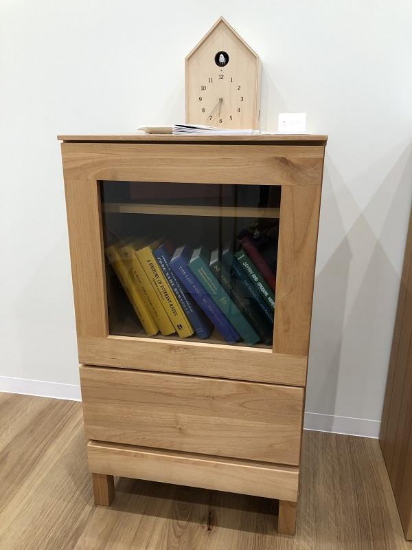 高野木工ナチュラルシリーズのアルダー材で作ったサイドボード
