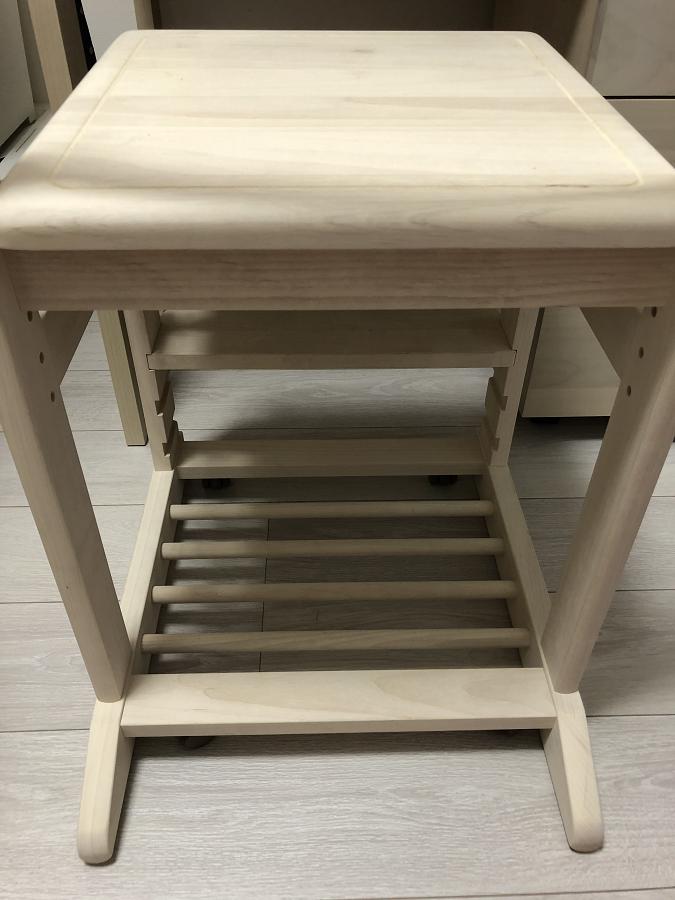 堀田木工学習椅子の後ろからの画像